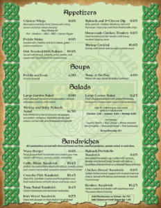 Waxy-O'Connors-Menu-Page-1
