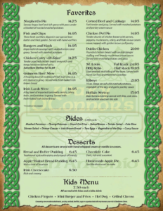 Waxy-O'Connors-Menu-Page-2
